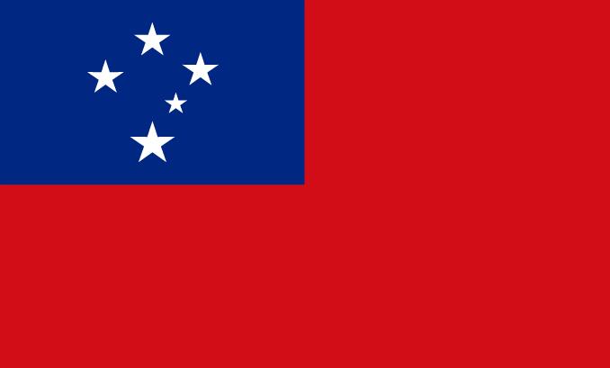 flag of Samoa
