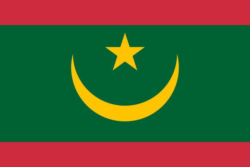 new flag of Mauritania