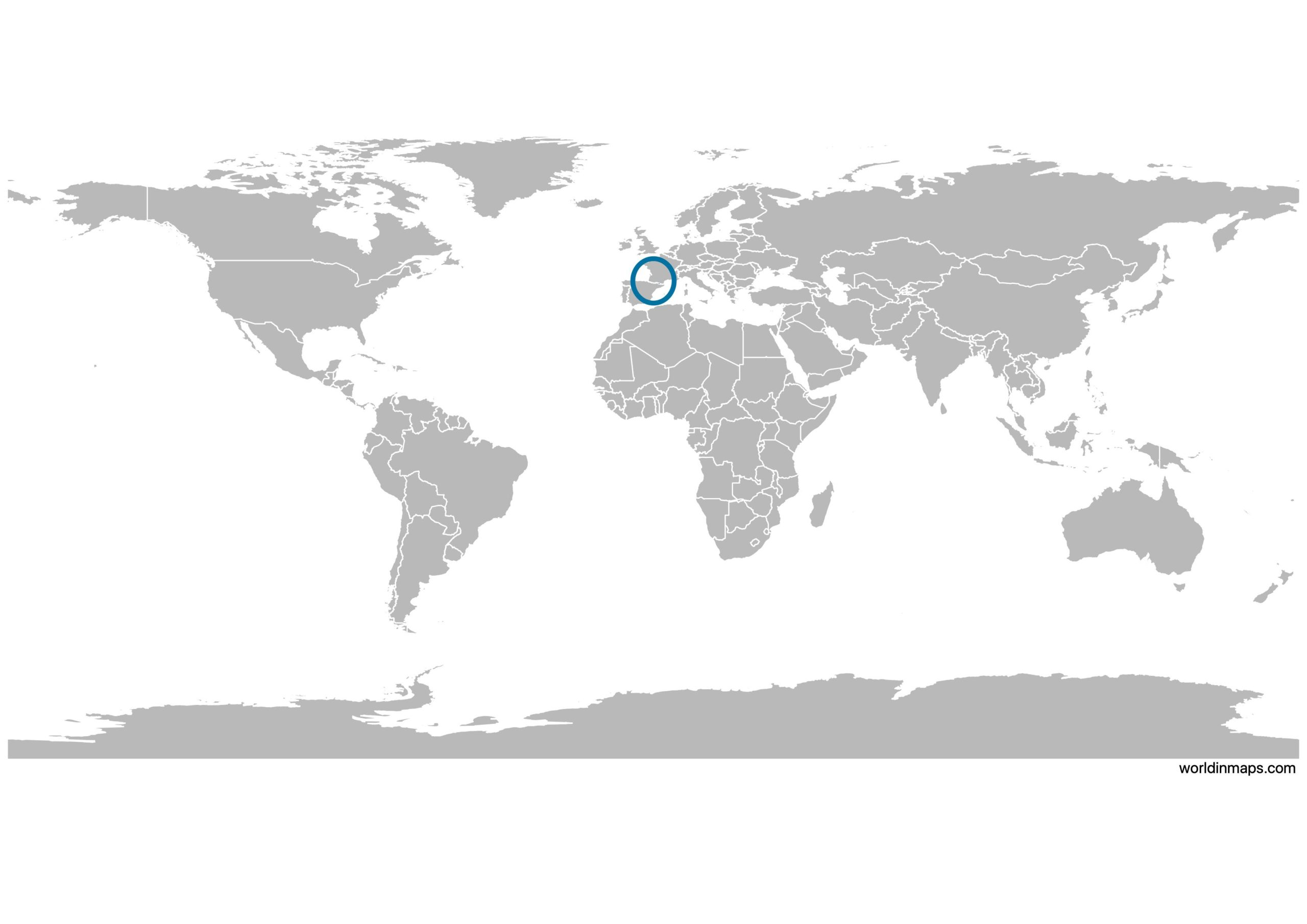 Picture of: Andorra In Map And Data World In Maps