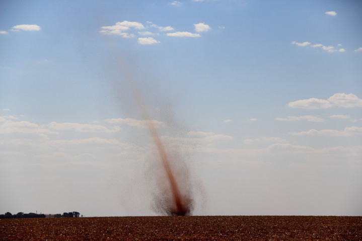Picture of a dust devil