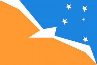 flag of Argentine Antarctica