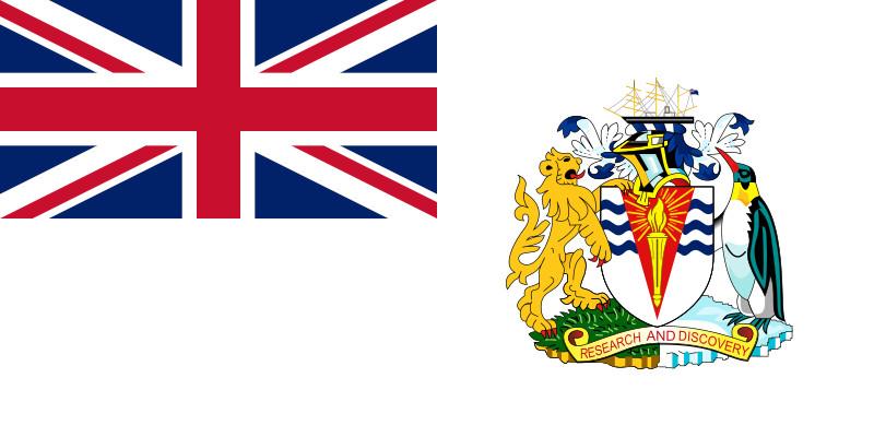 Flag of British Antarctic Territory