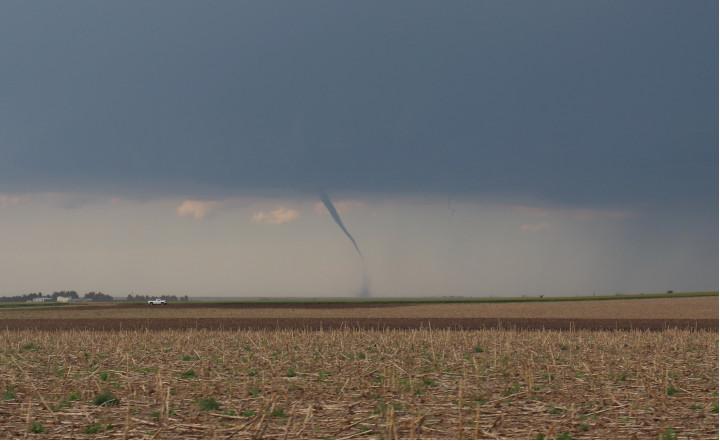 Picture of a landspout
